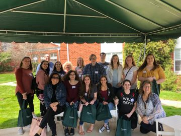 Students get workforce advice from senior adults