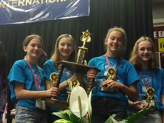 West Jefferson Hills team earns third-place honors at FPS International Competition