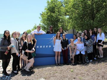 PWHS girls see female engineers in action at Lockheed Martin