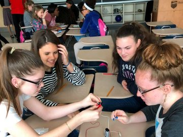 Event encourages girls to pursue STEM careers