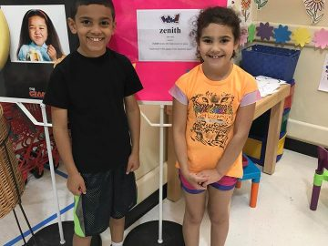 Elementary students 'WOW' with vocabulary skills