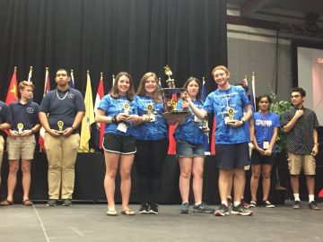 Students place fourth in international competition