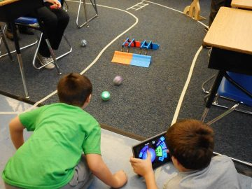 Sphero robots help teach STEAM skills