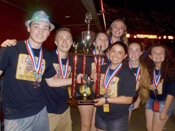 Delaware Valley school wins second place in international competition