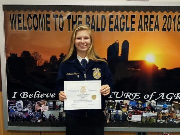 BEA FFA team among best in state, nation