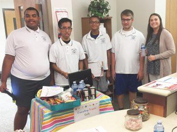 Traveling Treats Cafe helped keep students' skills fresh