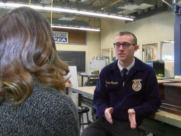 Bald Eagle Area FFA student earns national recognition
