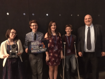 Palmerton wins 'Most Outstanding' award in video competition