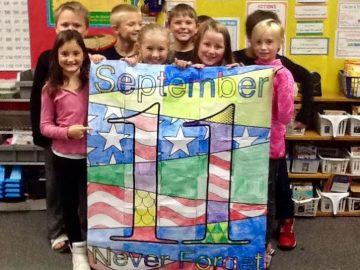 Mountaintop Elementary students learn history of 9/11