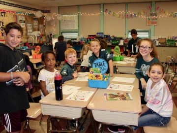 Students build connections on Bigs and Littles Day
