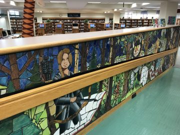Thousands of mosaic tiles tell stories at Hempfield High School Library