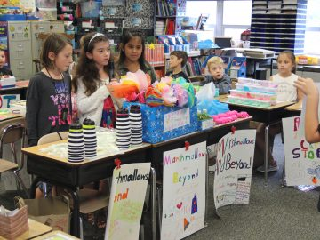 Third-graders host elementary economics fair