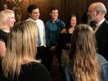 Quakertown students shine in Capitol visit