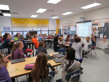 Fifth-graders start Newspaper Club, publish new school newspaper