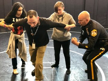 Quakertown students receive ALICE counter training