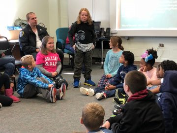 Conshohocken Elementary students demonstrate 'Morning Meeting' for parents