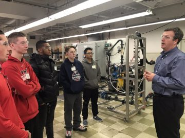 Plymouth Whitemarsh students explored engineering at De Nora Career Day