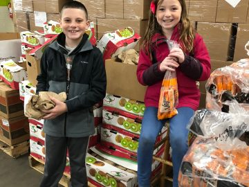 Students learn value of community service through SHARE Food Program