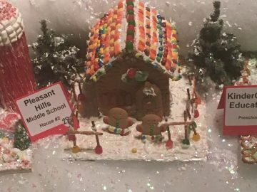 West Jefferson Hills life-skills students create gingerbread houses for annual competition
