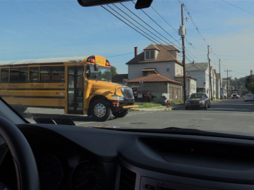 Students produce driver training and school bus safety videos