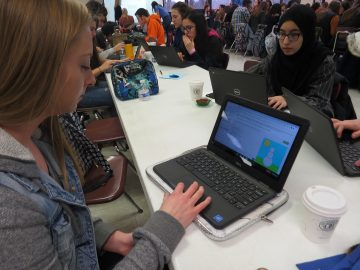 Thomas Jefferson High School's Hour of Code 2.0 provides double the fun and learning