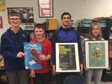 Sharpsville Middle School students get involved in theatre early as playwrights