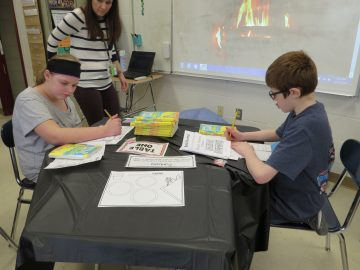 """Pleasant Hills Middle School """"Book Tasting"""" Fosters Appetite for Reading"""