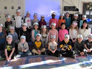 McClellan Elementary First-Graders Participate in Antarctic Day