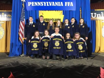 Missed Oley Valley's FFA Chapter's Trip to the PA Farm Show? Here's the Beef