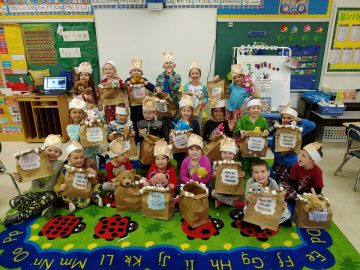 Gill Hall Kindergarten Classes Experience Hibernation Day