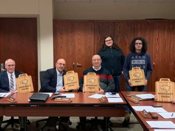 Students Honor Somerset Area School Board Members