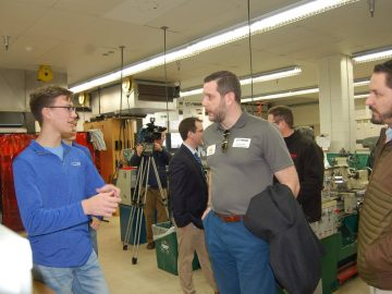 McDowell and Fort LeBoeuf high schools team up with local businesses to support STEM education