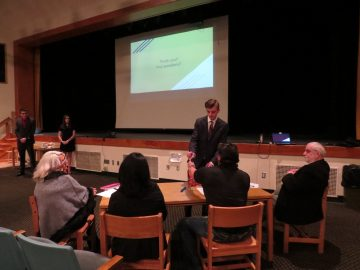 INCubatoredu Students at Thomas Jefferson High School Present Business Models to Board of Advisors