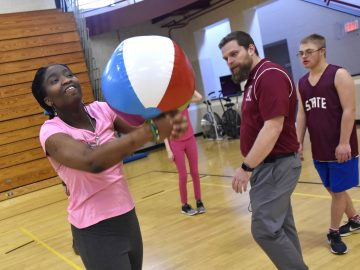 Adapted Physical Education class provides equal fitness opportunities