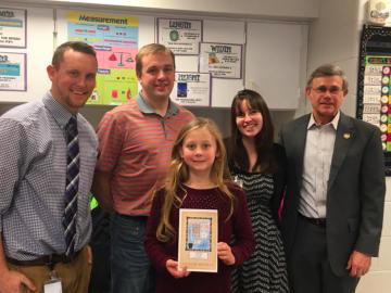 Salisbury Elementary wins State Design Birthday Card contest