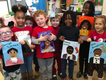Conshohocken Elementary creates quilt to celebrate famous African Americans