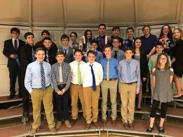 Northern Cambria School District Students Shine at Region 8 TSA STEM Competition