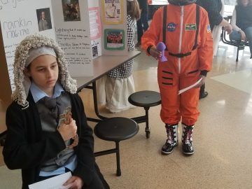 Paradise Elementary hosts Live Wax Museum