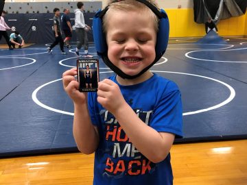 "Elementary and High School Students Build Connections through ""Wrestling for Fun"" Program"