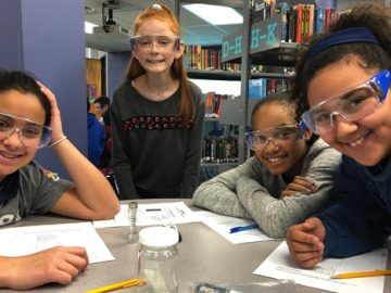 Sixth graders use science to solve a crime