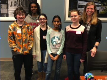 Middle school participates in statewide STEM competition