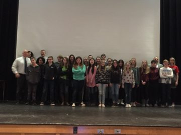 Hartman Intermediate School students participate in grade level Shark Tank
