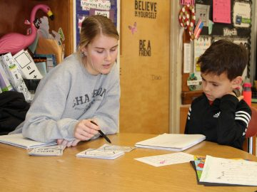 High School Students gain insight into the World of Teaching