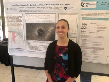 BEA grad, Penn State student presents astrophysics research around the country