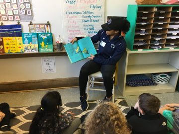 Students celebrate Read Across America week with activities