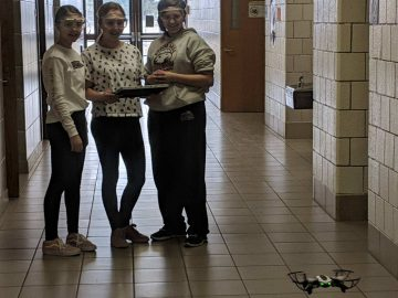 "DuBois Area Middle School students ""take off"" by coding with drones"