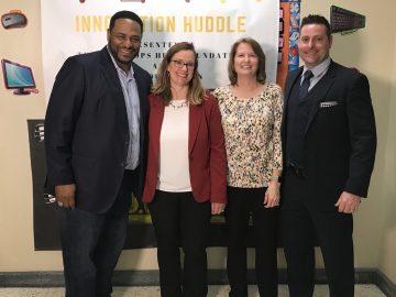 Innovation Huddle and EQT bring pilot computer program to Washington Park Elementary