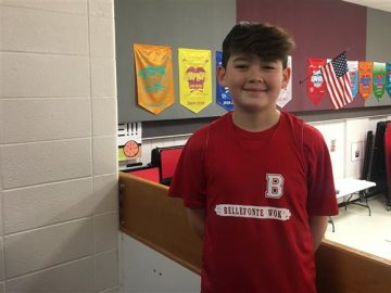 Elementary student inspired to support AHA through school campaigns