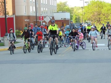 Indiana Area School District holds 20th annual Bike to School Challenge