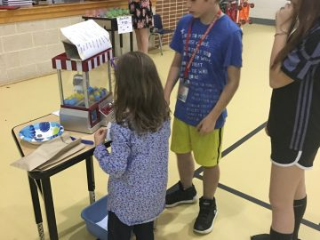 Salisbury math learners create carnival game for statistics project